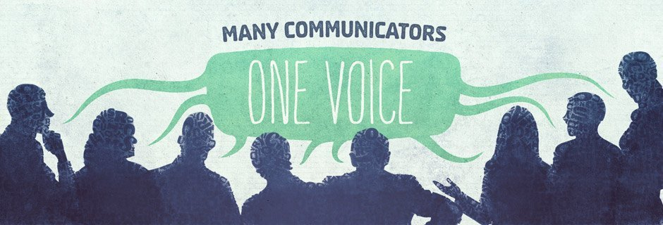 Many Communicators, One Voice