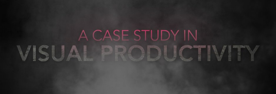 A Case Study in Visual Productivity