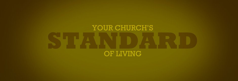 Your Church's Standard of Living