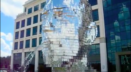 Giant Mirror, Morphing Fountain