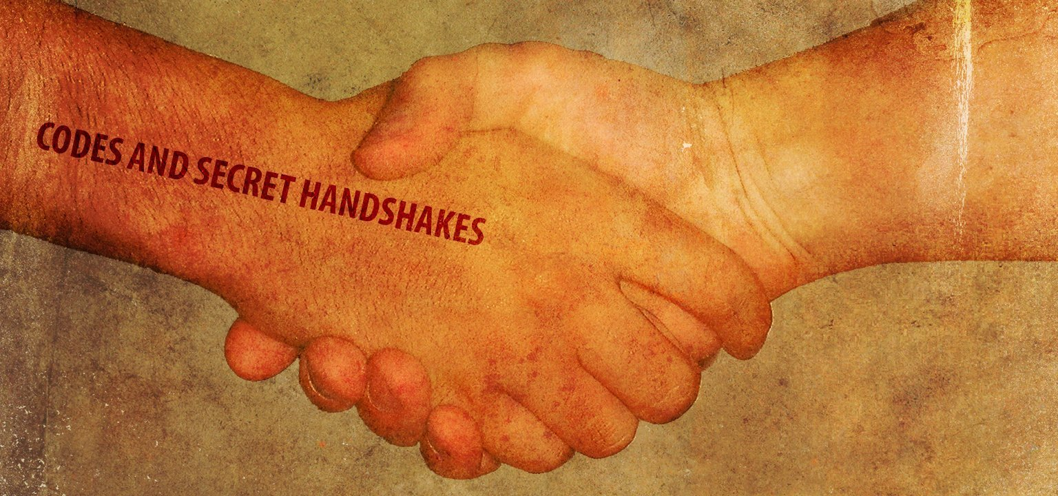 Codes and Secret Handshakes