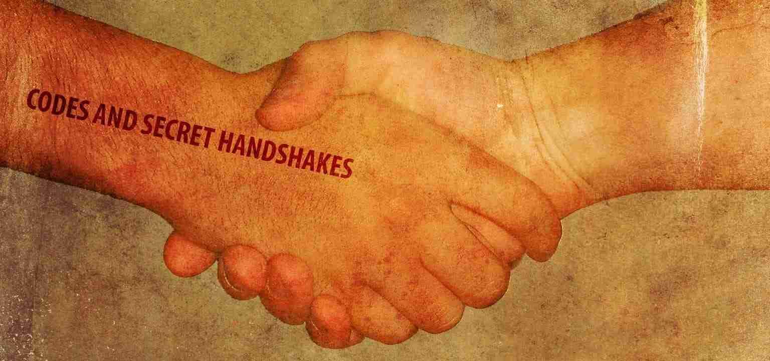Codes and Secret Handshakes
