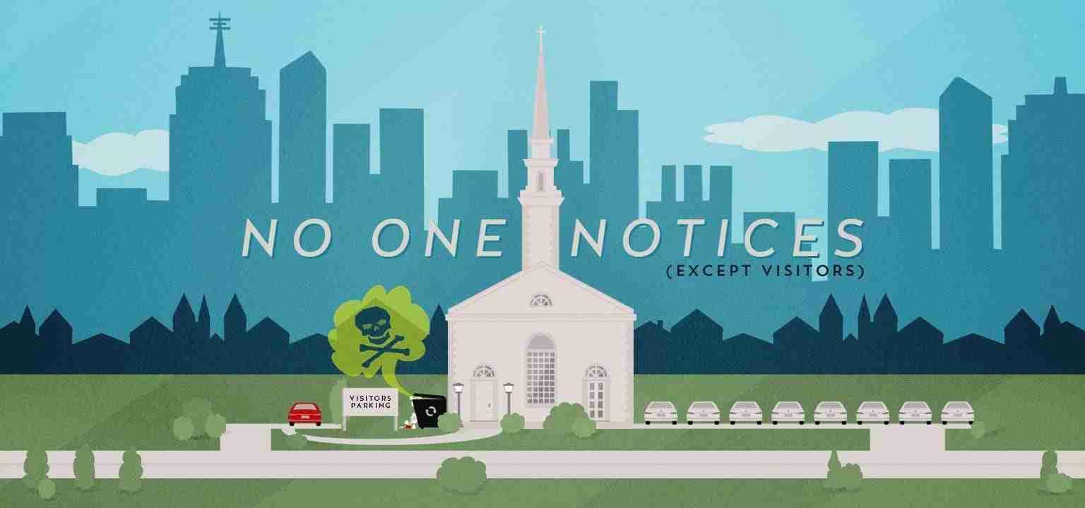No One Notices (Except Visitors)