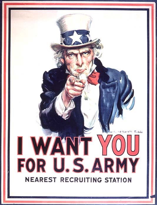 I Want You Propaganda