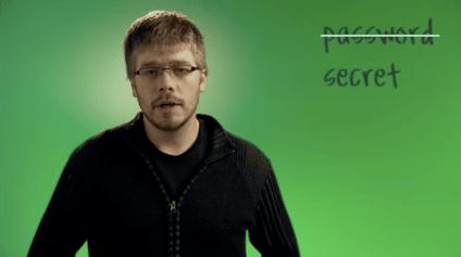 Google's Password PSA