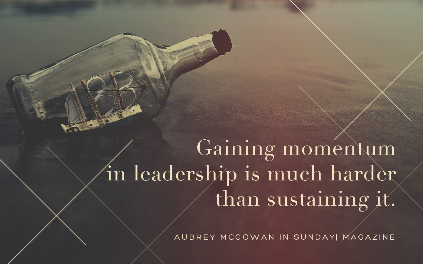 Momentum in Leadership