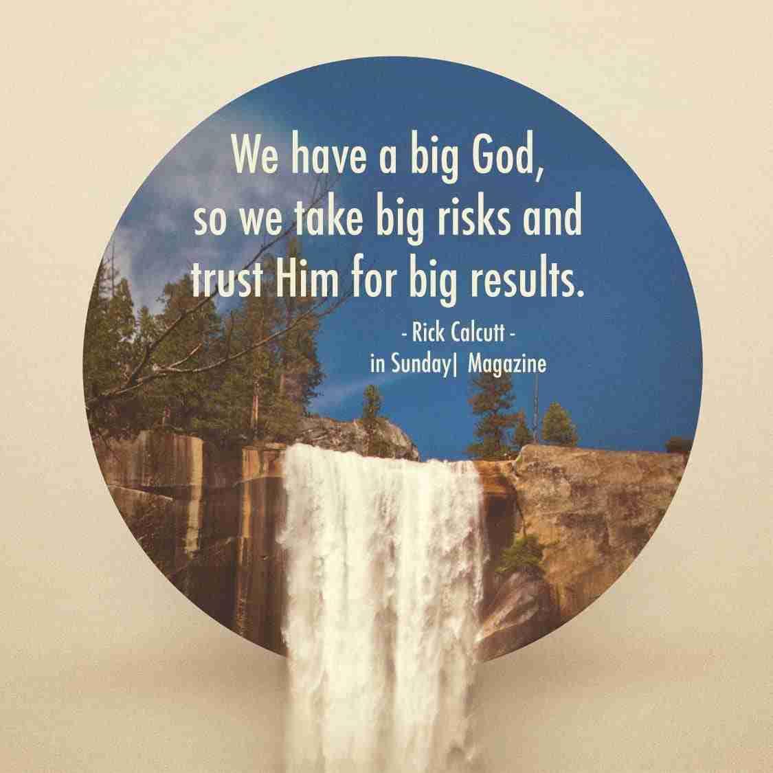 Big God = Big Risks