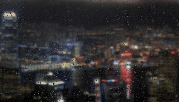 Fake Rain with Javascript