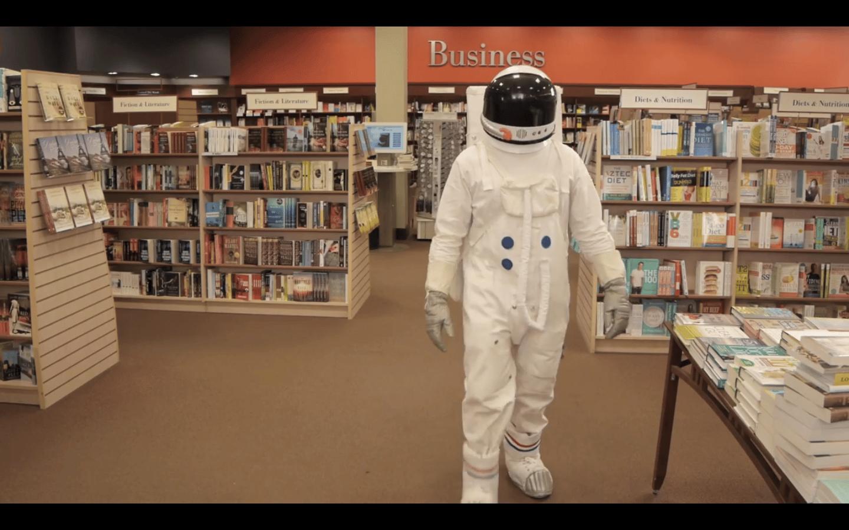 An Astronaut Book Promo