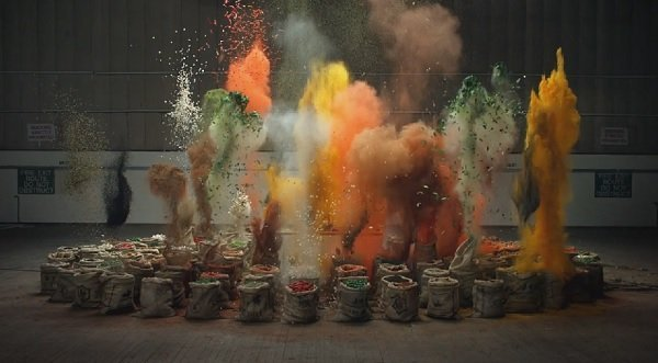Exploding Bags of Spices