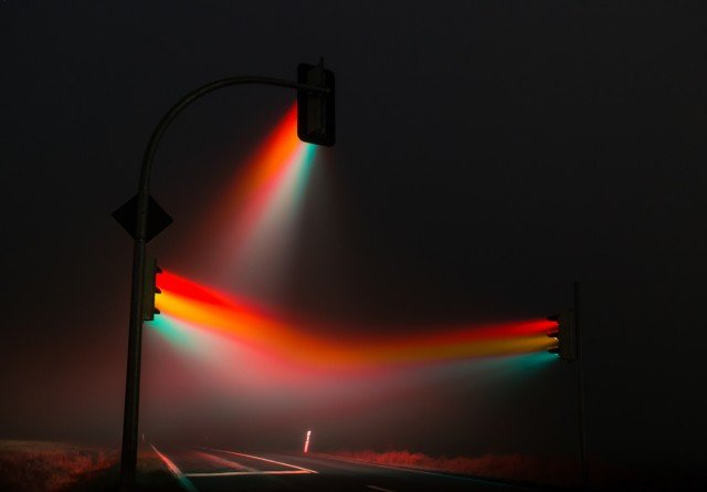 Traffic Light Show in Germany 1