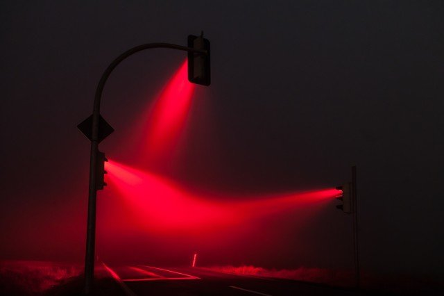 Traffic Light Show in Germany 3