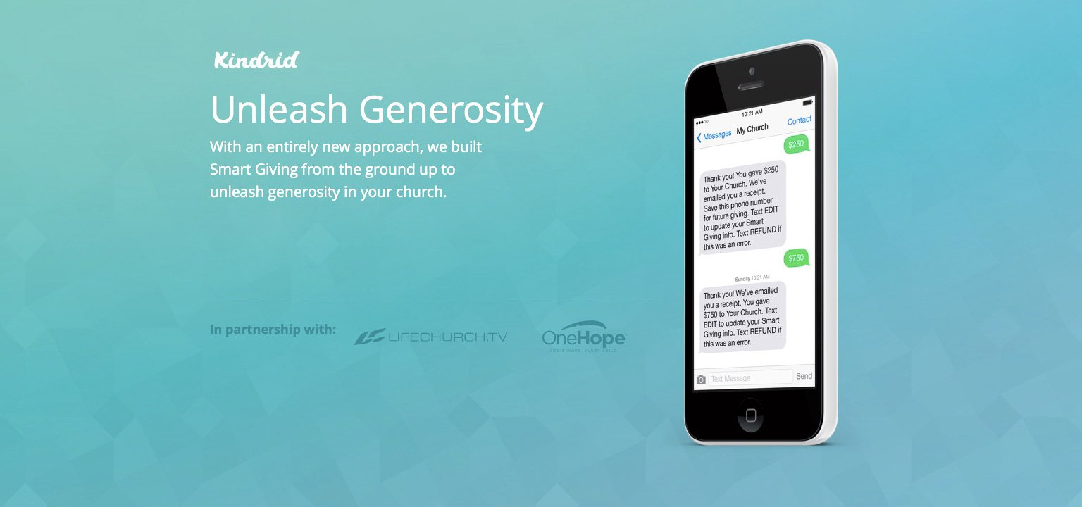 A New Giving App from LifeChurch.tv