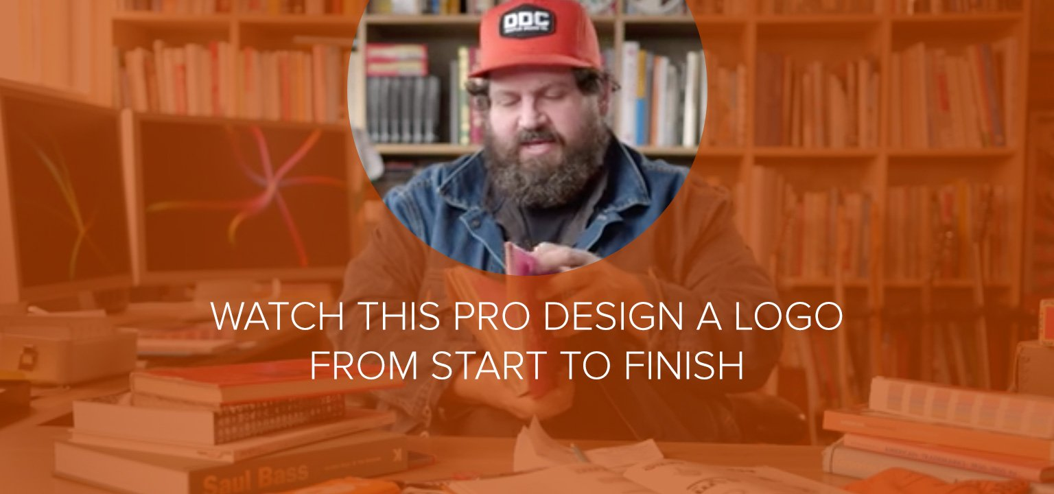 Watch this Pro Design a Logo from Start to Finish