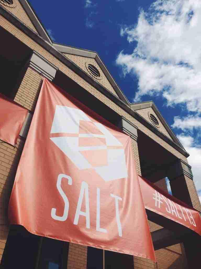 SALT Nashville signage