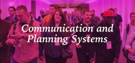 Communication and Planning Systems