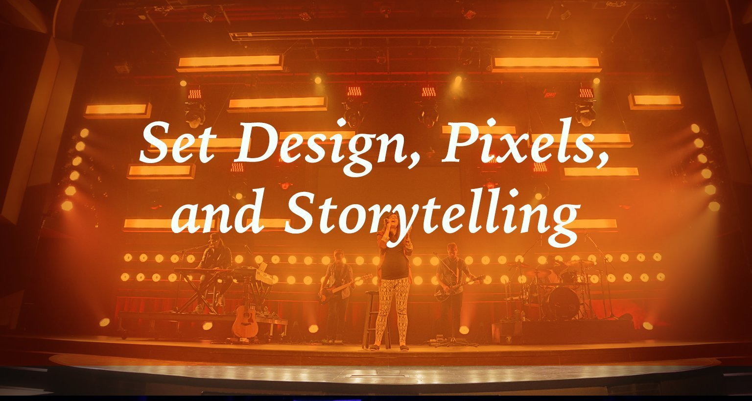 SALT: Set Design, Pixels, and Storytelling