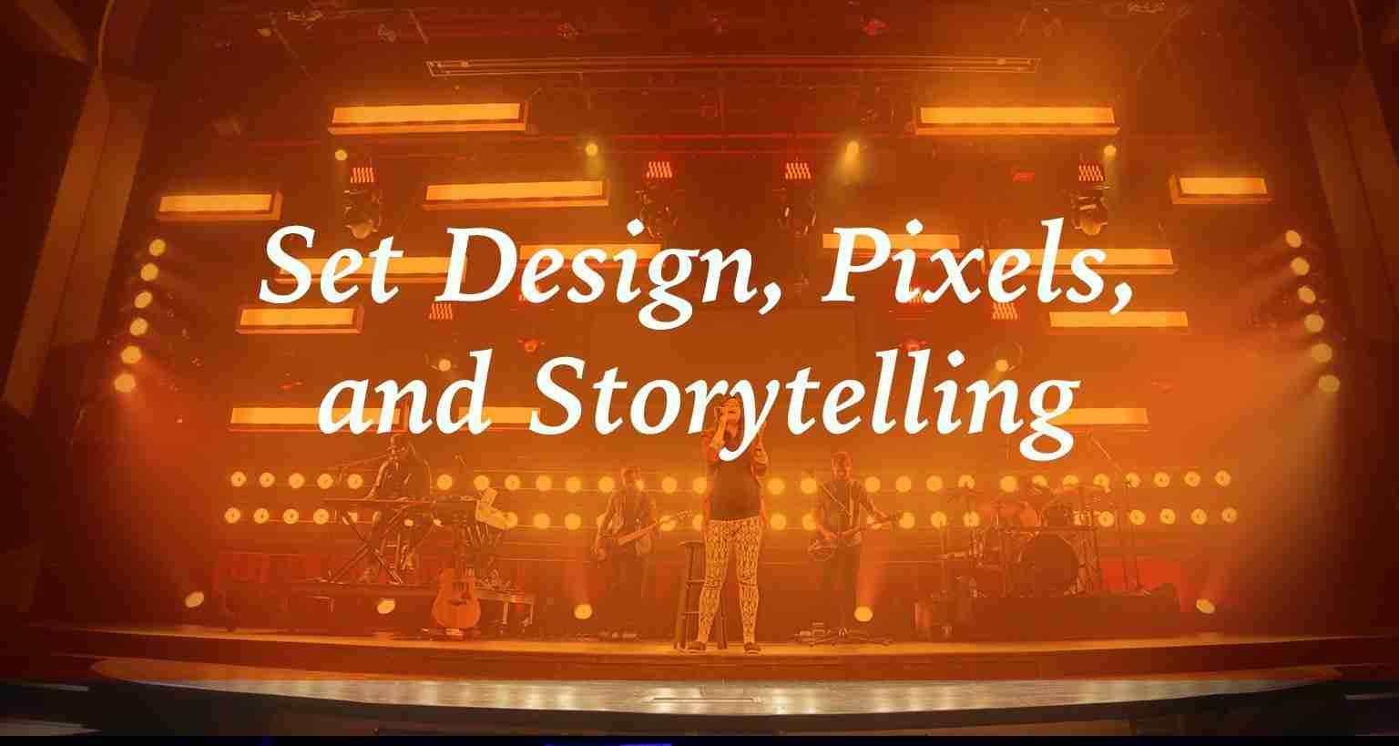 SALT: Set Design, Pixels, and Storytelling