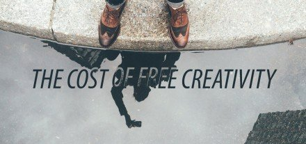 The Price of Free Creativity