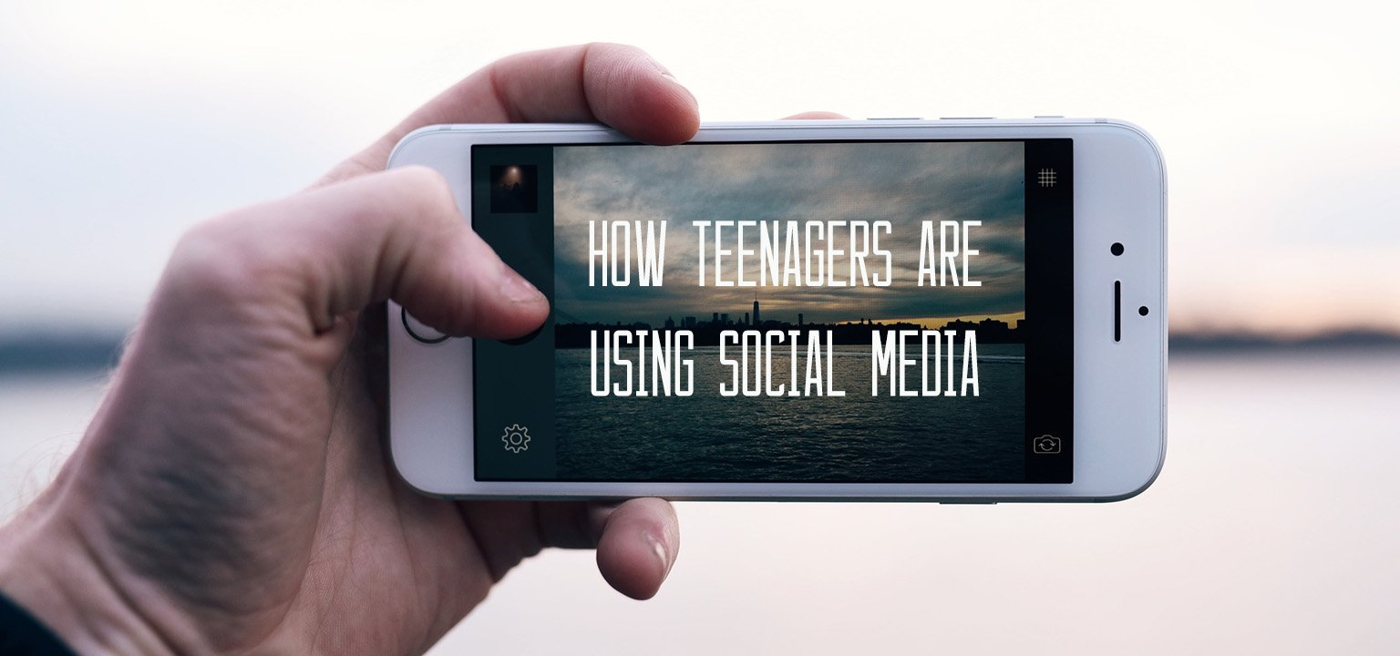 How Teenagers Are Using Social Media