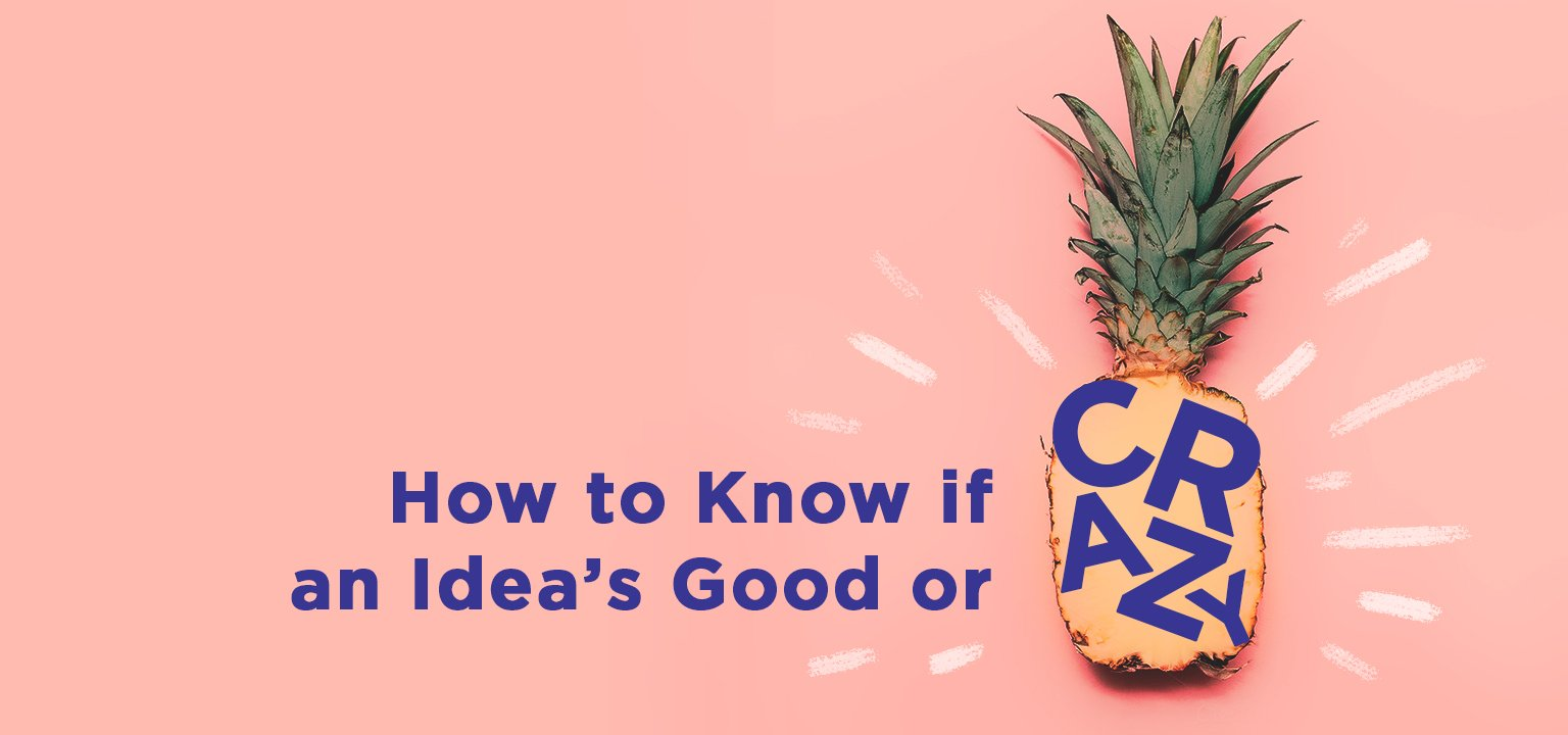 How to Know If an Idea's Good or Crazy