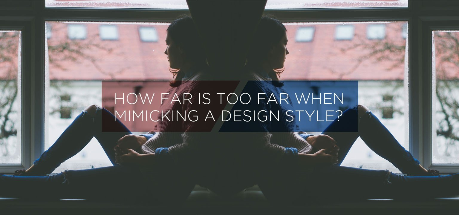 How Far Is Too Far When Mimicking a Design Style?
