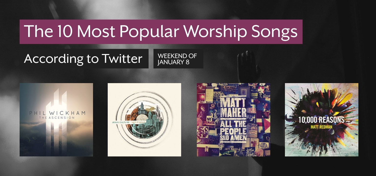 The 10 Most Popular Worship Songs This Week