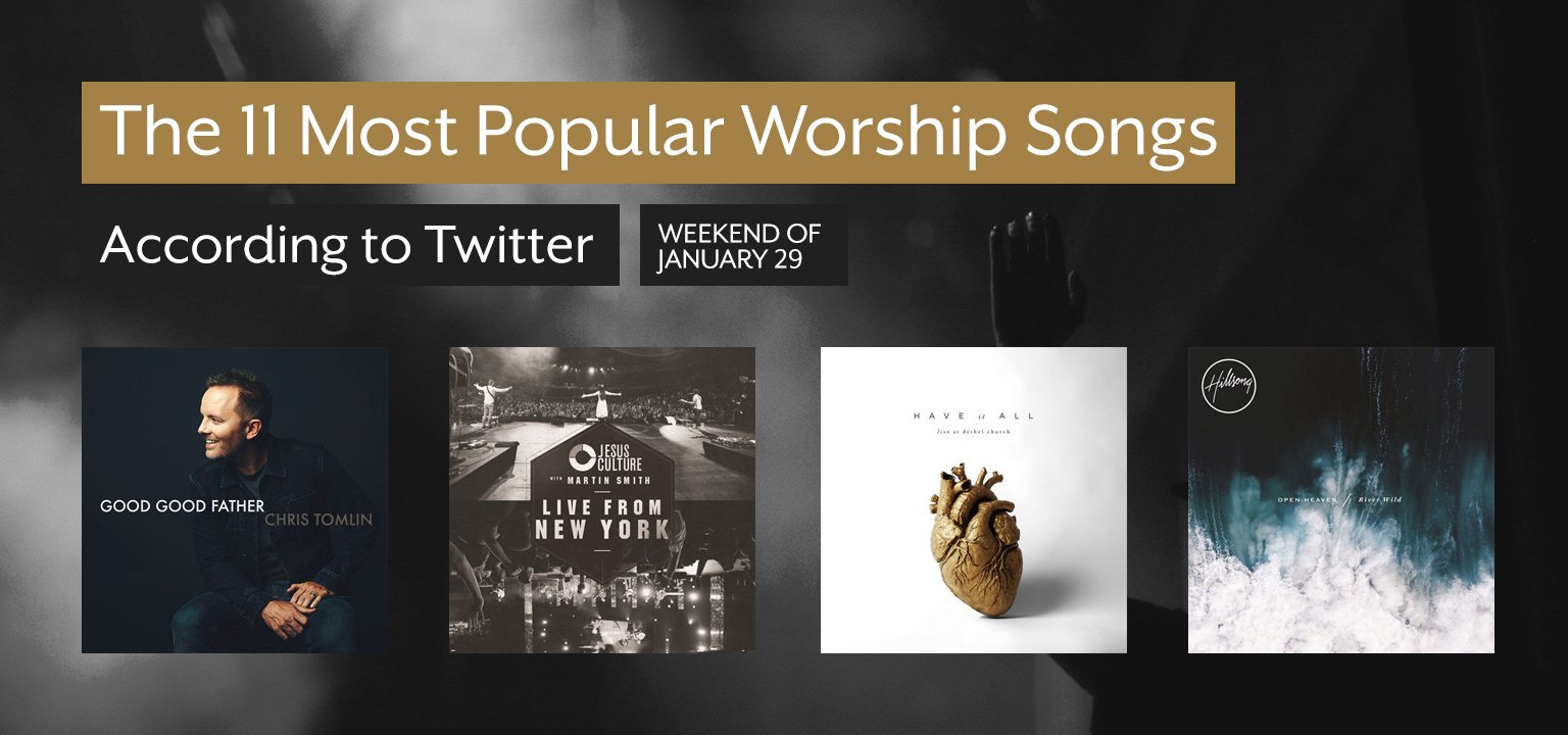 The 11 Most Popular Worship Songs This Week