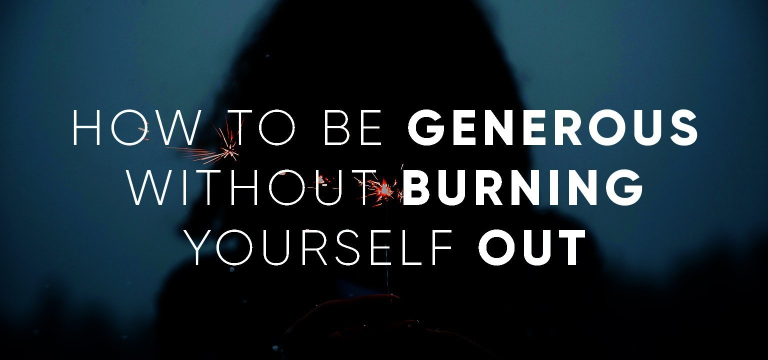Watch How to Be Generous video