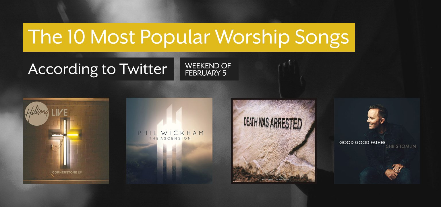 The Top 10 Most Popular Worship Songs This Week